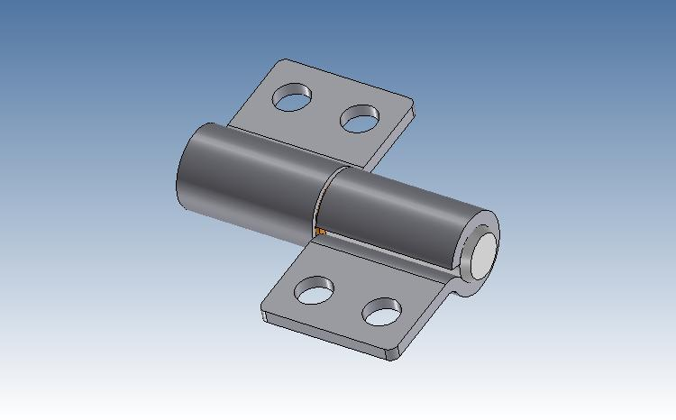 Medium friction hinge