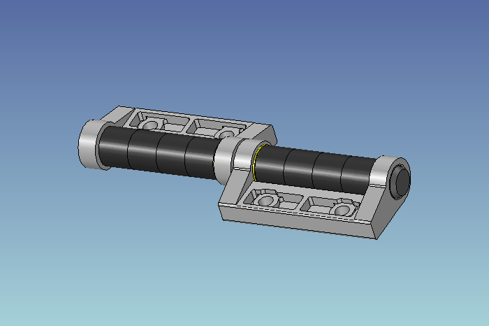 Custom friction hinge